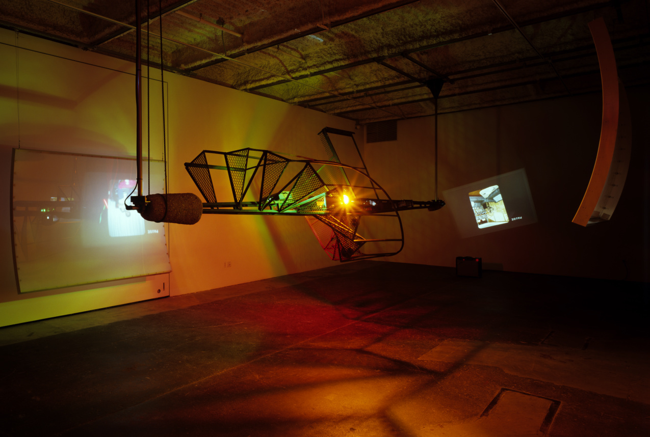 Installation view, CCAC Wattis Institute for Contemporary Arts, 2003