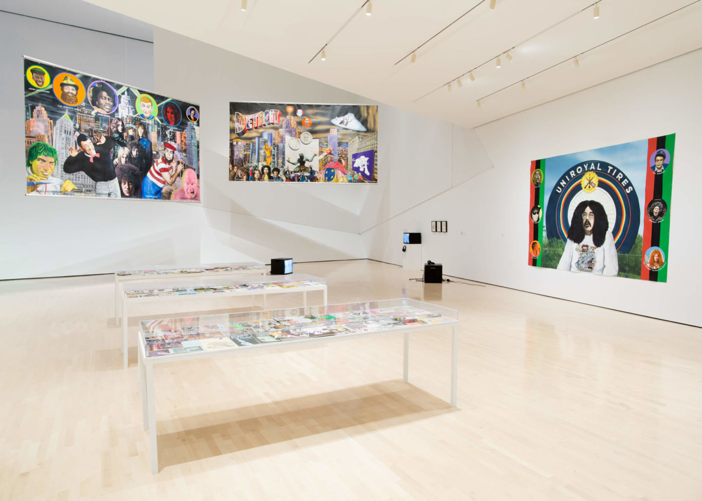 Installation view, Eli and Edythe Broad Art Museum, Michigan State University, East Lansing, Michigan, USA, 2017.