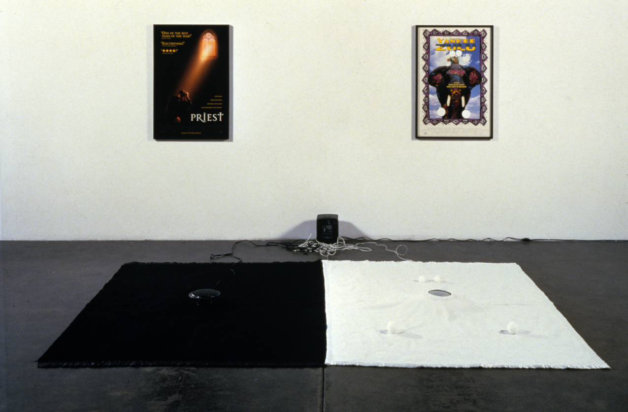 Installation view, Patrick Painter, Santa Monica