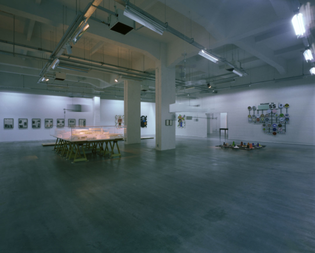 Installation View, WIELS, Brussels, Belgium, 2008.