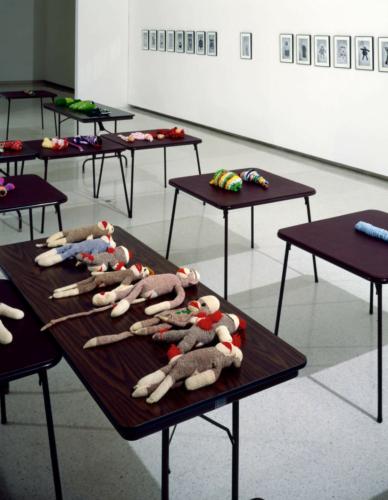 "Installation view, ""Carnegie International 1991,"" Carnegie-Mellon University Museum, Pittsburgh, 1991."