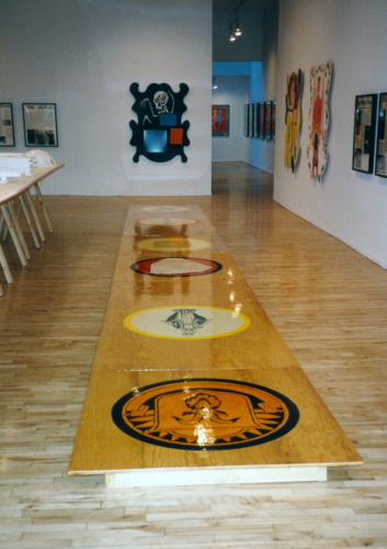 Installation View, Toward a Utopian Arts Complex, Metro Pictures, New York, New York, 1995.