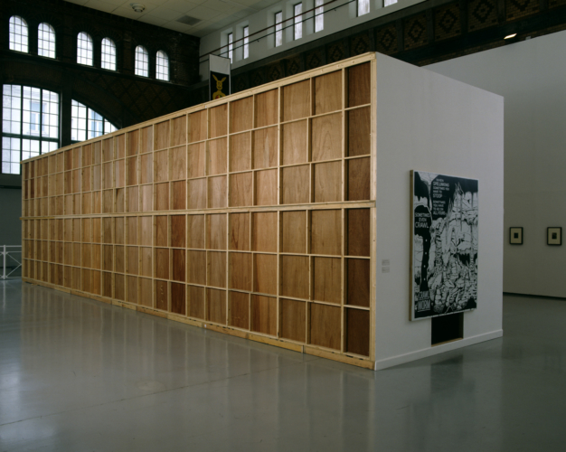 Installation view, Rooseum, Malmo, Sweden, 1997.
