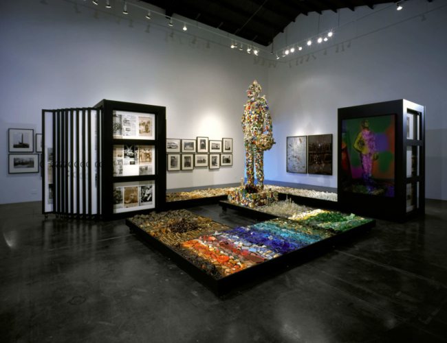 Installation view, Patrick Painter Gallery, Santa Monica, 2002.