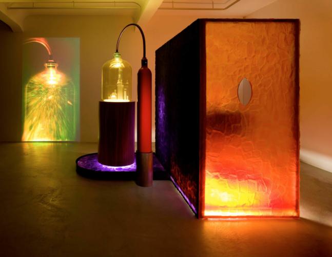 Installation view, Jablonka Galerie, Berlin, 2007.
