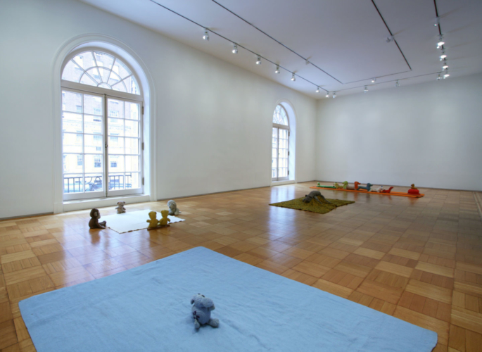 Installation View, Skarstedt Gallery, New York, New York, 2010.