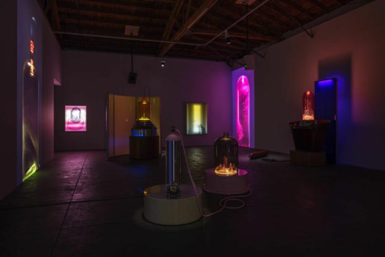 Installation view, Gagosian, 2005.