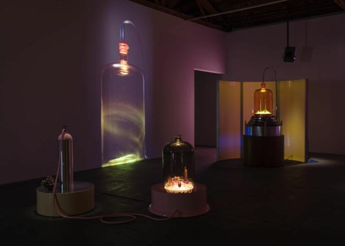 Installation view, Rosamund Felsen, Los Angeles, 1992.