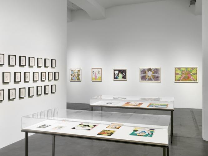 Installation View,  Hauser & Wirth, Zurich, Switzerland, 2018.