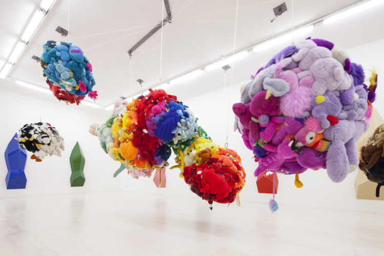 Installation View, Mike Kelley  MoMA PS1, Long Island City, 2013.