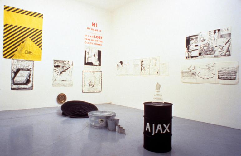 Installation view, Kunstverein Braunschweig, Braunschweig, 1999.