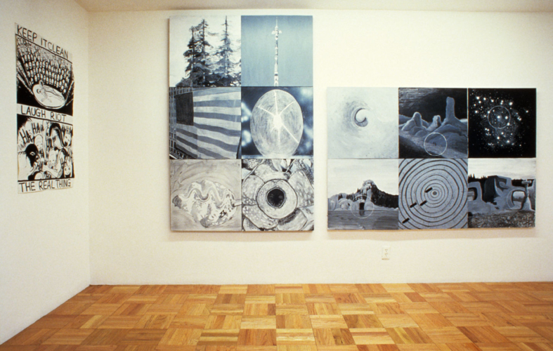 Installation view, Galerie Ghislane Hussenot, Paris, France, 2006.