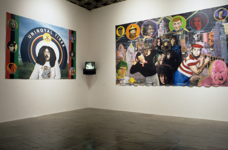 Installation view, Whitney Museum of American Art, 2002.