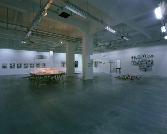 Installation View, WIELS, Brussels, Belgium, 2008.