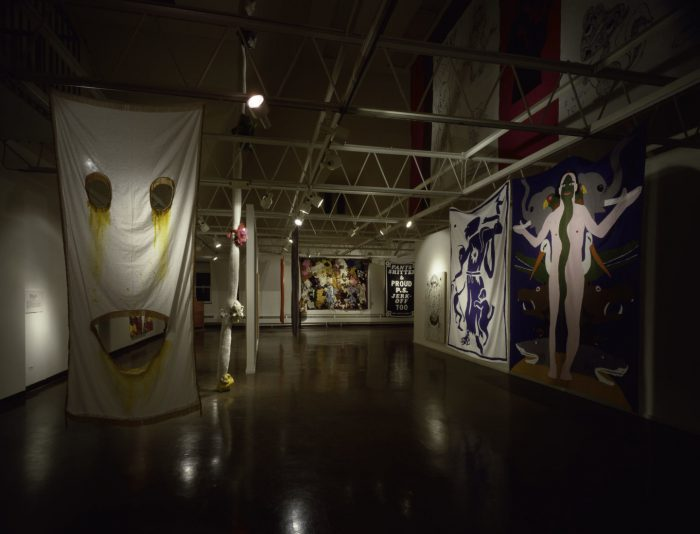 Installation view, The Renaissance Society at the University of Chicago, Chicago, 1988.