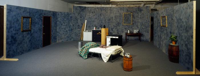 Installation view, Galleria Emi Fontana, Milan, Italy, 2000