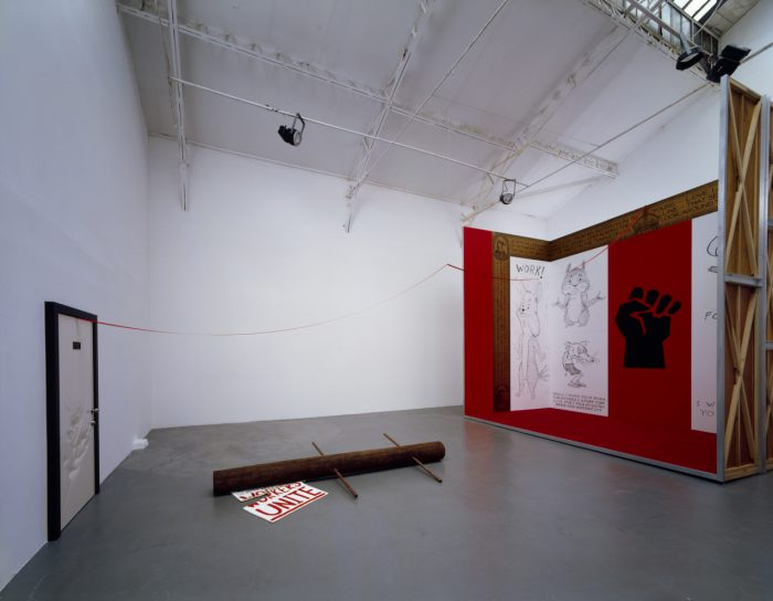 Installation view, Galerie Ghislane Hussenot, Paris, 2006.