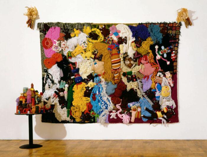 Installation view, Rosamund Felsen, Los Angeles, 1987.