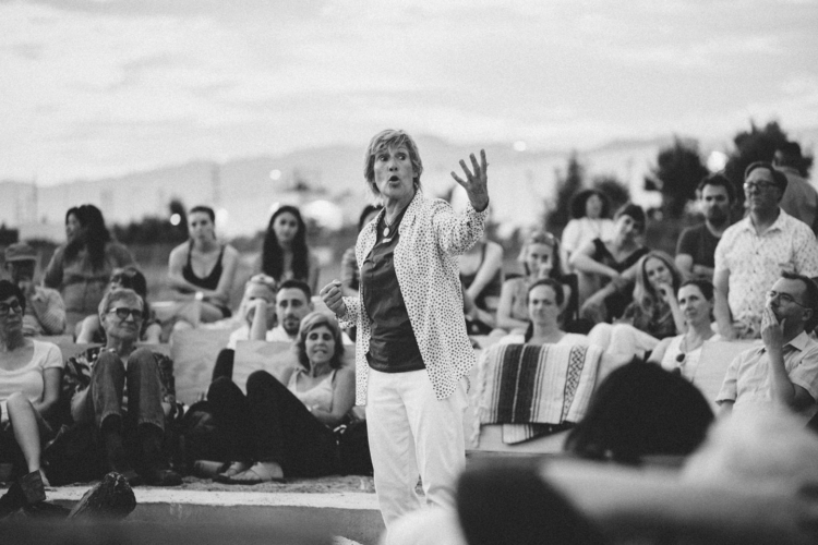 Diana Nyad at Reading by Moonrise.