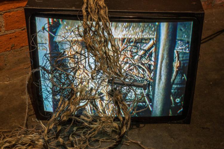 Christopher Reid Martin, Untitled (From the Mar Gauge installation), Sept. 2018.