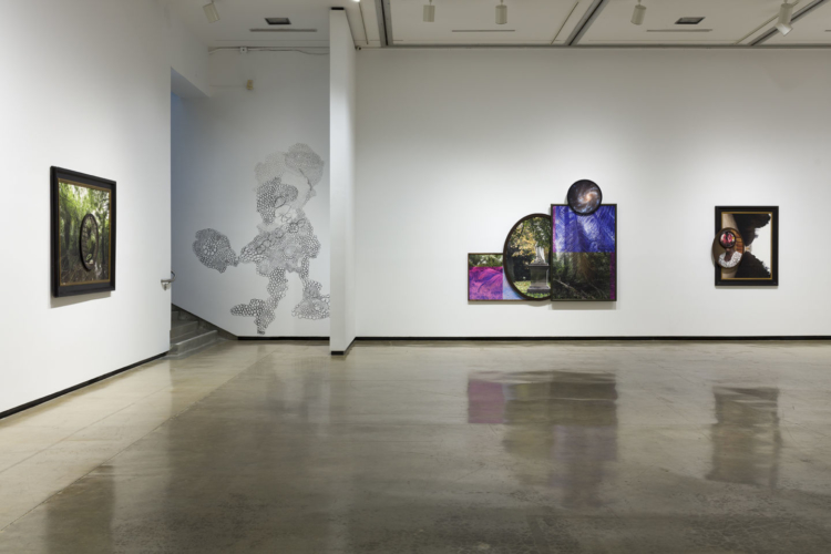 Installation view, Todd Gray: Euclidean Gris Gris, Pomona College Museum of Art, Pomona, CA, September 3, 2019-May 17, 2020.