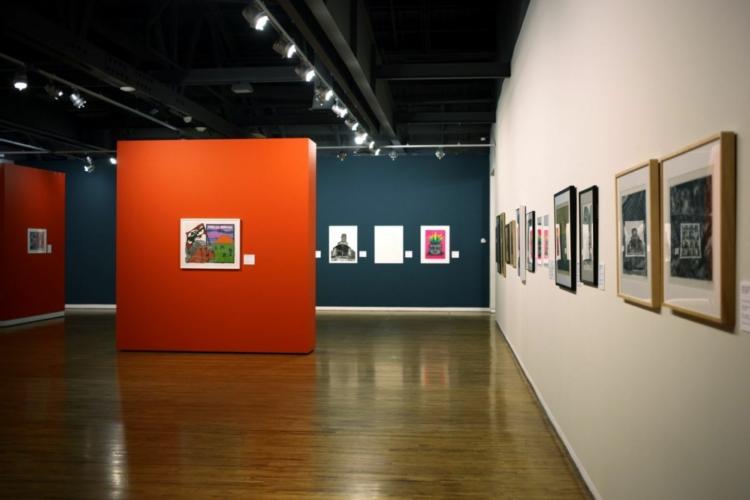 Installation view, Jablonka Galerie, Cologne, 1998.