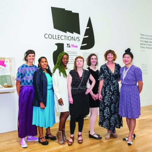 Artists featured in Collection/s at the opening of the exhibition at the Huntington Library, Art Collection, and Gardens, 2018.