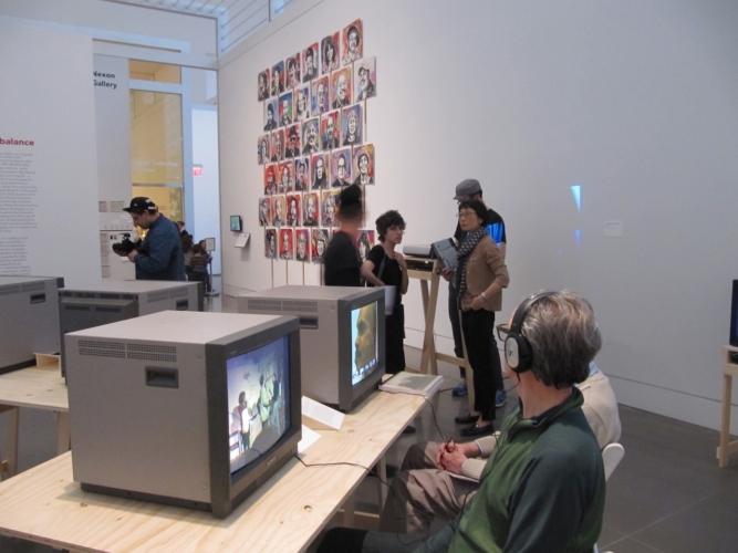 Installation View, Skarstedt Gallery, New York, New York, 2010.