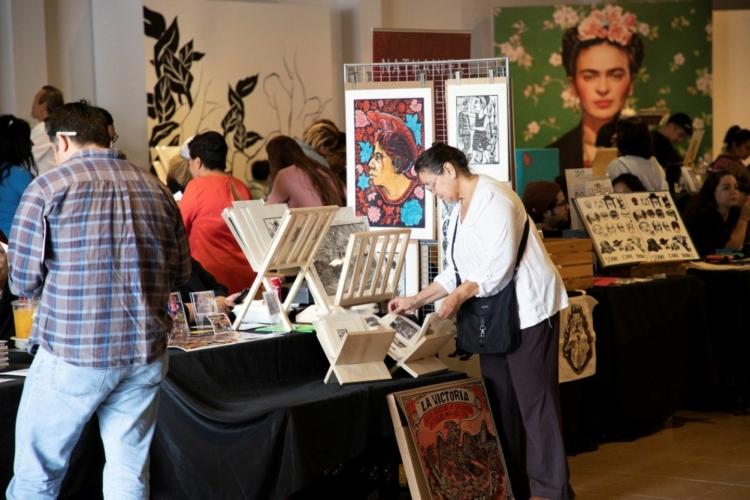 Print Fair Festival at Gráfica América, Museum of Latin American Art, Long Beach, CA, 2019.