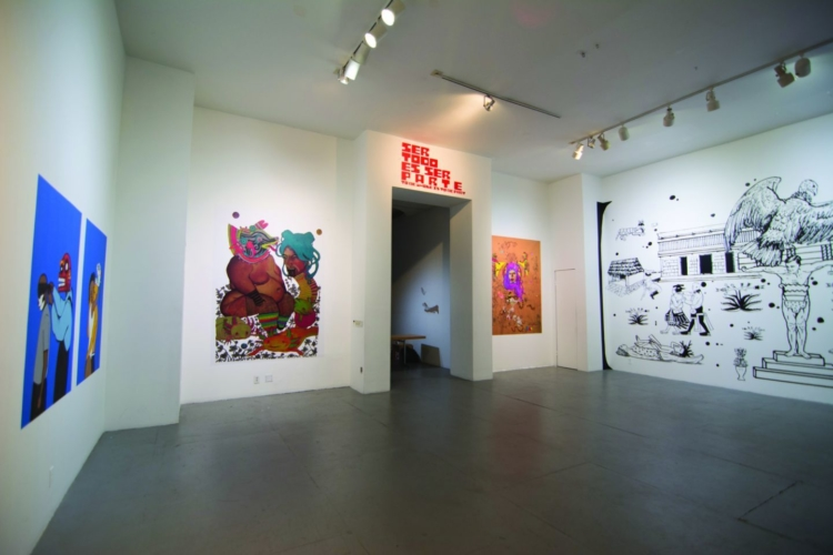 Installation view, Ser todo es ser parte / To Be Whole Is To Be Part, curated by Selene Preciado, 2020.